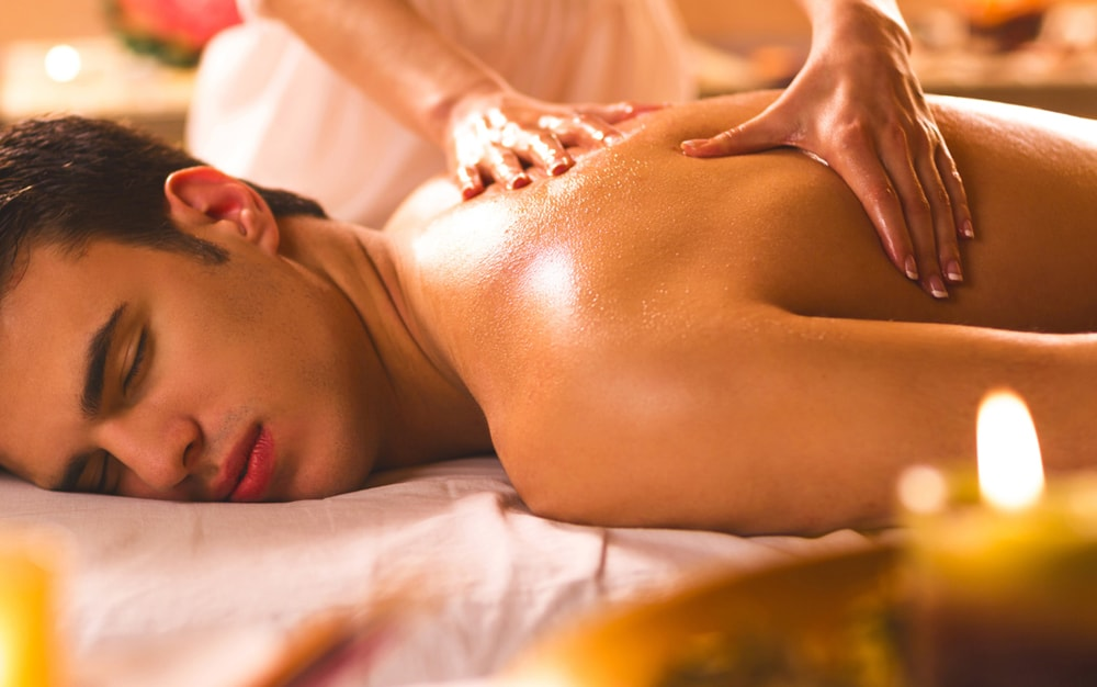 Расслабляющий массаж SANDHI для мужчин