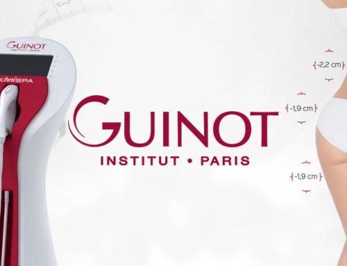 Guinot Techni SPA: Programma Nr.1 Pretcelulīta procedūra ar apa- efektīva procedūra notievēšanai.